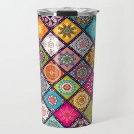 bohemian pattern Travel Mug