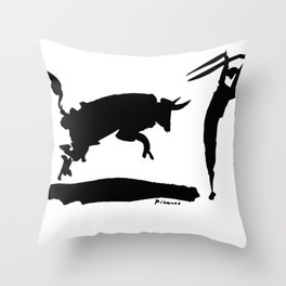 Pablo Picasso Bullfight III 1960 Artwork Shirt, Reproduction Throw Pillow