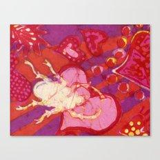 Batik Lovebug Canvas Print