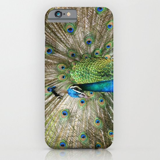 Peacock Indian Blue iPhone & iPod Case