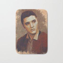 Elvis Presley Portrait Bath Mat