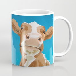 Enid the Contented Cow Coffee Mug