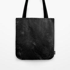 Painted B&W Tote Bag