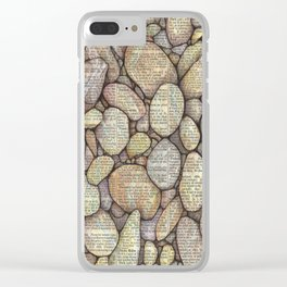 Bed of Stone Clear iPhone Case