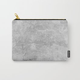 Gray Concrete Carry-All Pouch