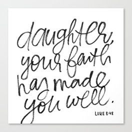 Daughter Canvas Print