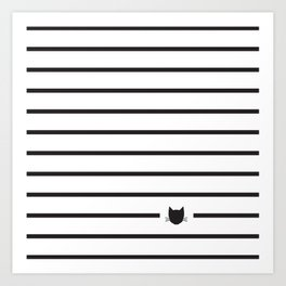 Classic Stripes 03 Art Print