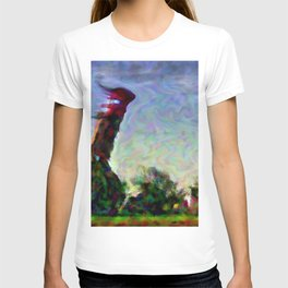 Lighthouse in a storm T-shirt