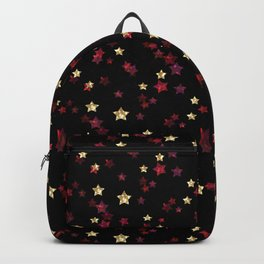The night sky. Stars Backpack