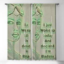 I Woke Up Today Blackout Curtain