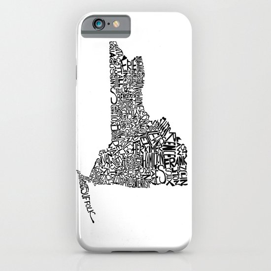 Typographic New York iPhone & iPod Case