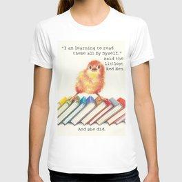 Little Red Hen Reads T-shirt