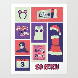 So Fetch Art Print