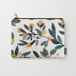 Clementine Sprigs Carry-All Pouch