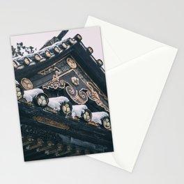 Snowy Nikko Stationery Cards