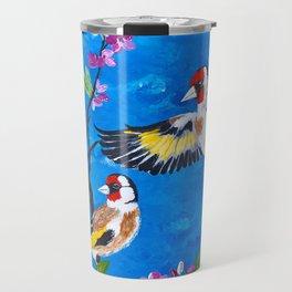 Goldfinches Travel Mug