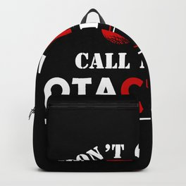 Otaku Anime Gift Manga Japanese Streetwear for Eboy or Egirl Backpack