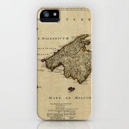 Map Of Majorca 1720 iPhone Case