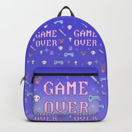 Game Over (pastel) Backpack