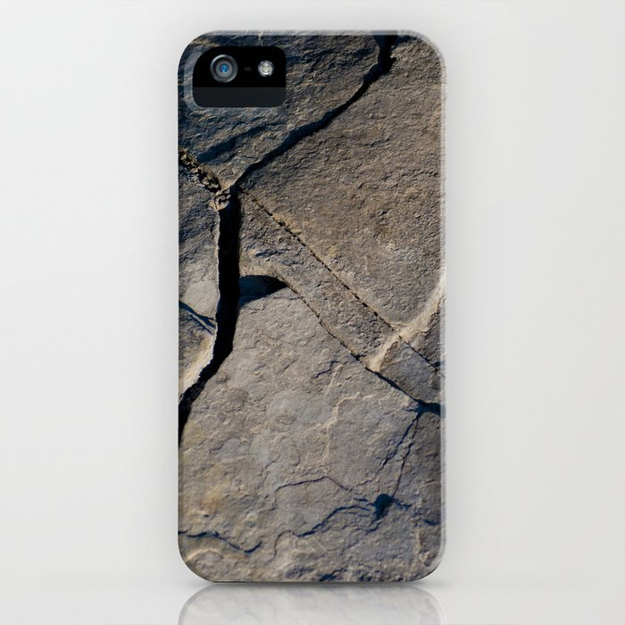 These Walls are Made of Rock iPhone Case