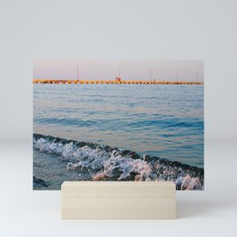 Greek Summer seaside Mini Art Print