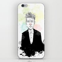 lynch iPhone & iPod Skins featuring David Lynch by suPmön