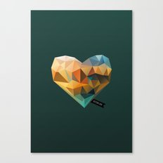 Vector Love 03 Canvas Print