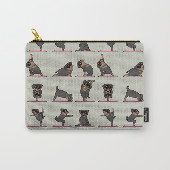 Rottweiler Yoga Carry-All Pouch