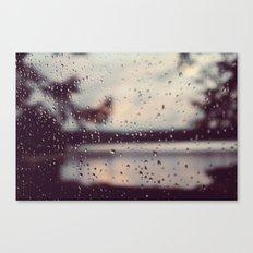 Colors of the Rain Color Photo Canvas Print