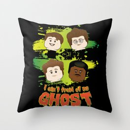 Lego Busters Throw Pillow