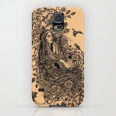 Lady and the fox Galaxy S5 Slim Case