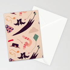Practically Perfect Pattern Stationery Cards