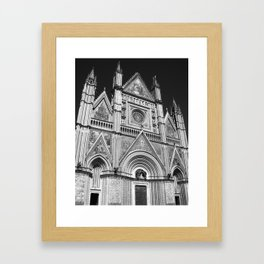 Orvieto Cathedral Framed Art Print