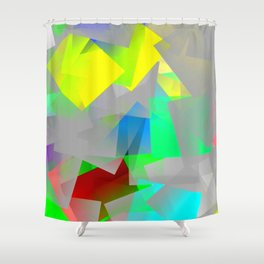 Friendly but misty ... Shower Curtain