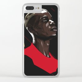 Pogba Clear iPhone Case