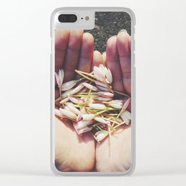 Smell Like Spring Spirit Clear iPhone Case