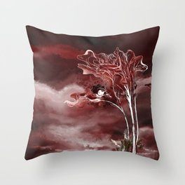 secret places of ghostly fairy-4 Throw Pillow