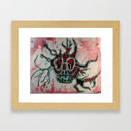 Amoeba Monster #3 Framed Art Print