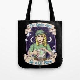 Mystic Miss Maggie Esmerelda (color) Tote Bag