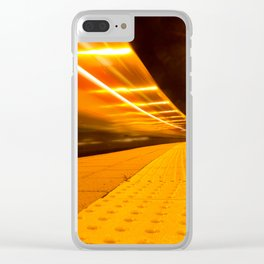 Train from Ulm Clear iPhone Case