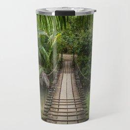 Bridge to Paradise - Costa Rica Travel Mug