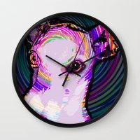 iggy Wall Clocks featuring Iggy Lux  by KAndYSTaR