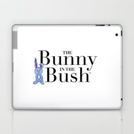The Bunny in the Bush Laptop & iPad Skin