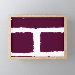 Bricks Framed Mini Art Print