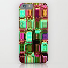 Glass blocks iPhone Case