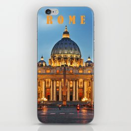 SAINT PETER'S CATHEDRALE in ROME iPhone Skin