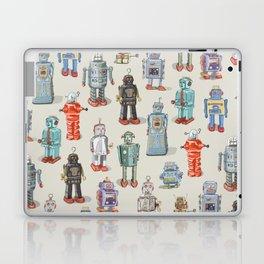 Vintage Style Robot Collection Laptop & iPad Skin