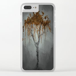 Lonely World Clear iPhone Case