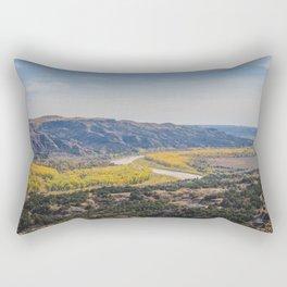 Badlands, Theodore Roosevelt NP, ND 7 Rectangular Pillow