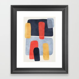 Parallax Framed Art Print